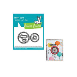 PREORDER - Lawn Fawn Dies - Reveal Wheel Circle Sentiments LF2226