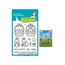 Lawn Fawn Stamps - Easter Before 'N Afters LF2230