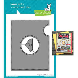 PREORDER - Lawn Fawn Dies - Magic Iris Add-on LF2239