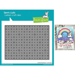 Lawn Fawn - Lawn Cuts Dies - Sparkle Backdrop LF2353