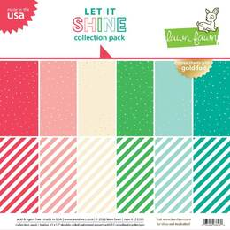 Lawn Fawn 12x12 Paper Pack - Let It Shine Collection Pack LF2395