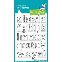 Lawn Fawn - Clear Stamps - Quinn's ABCs LF353