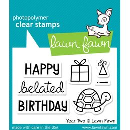 Lawn Fawn - Clear Stamps - Year Two LF510