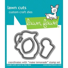 Lawn Fawn - Lawn Cuts Dies - Make Lemonade  LF905