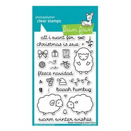 Lawn Fawn - Clear Stamps - Baaah Humbug LF939