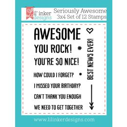 Lil' Inker Designs Stamps - Seriously Awesome