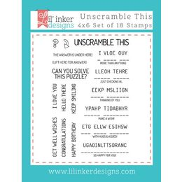 Lil' Inker Designs Stamps - Unscramble This