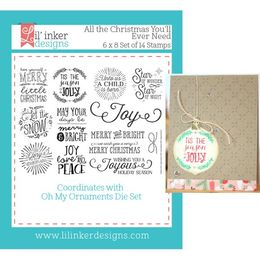 Lil' Inker Designs Stamps - All The Christmas You'll Ever Need