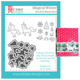 Lil' Inker Designs Dies - Magical Winter