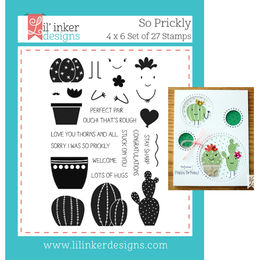 Lil' Inker Designs Stamps - So Prickly