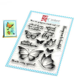 Lil' Inker Designs Stamps - Spread Your Wings