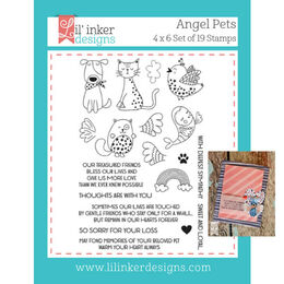 Lil' Inker Designs Stamps - Angel Pets