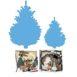 Marianne Design - Creatables Dies - PINETREE SET LR0370