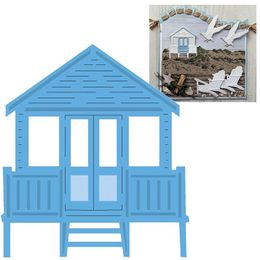 Marianne Design - Creatables Dies - Tiny's Beach Hut LR0422