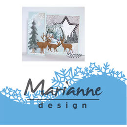 Marianne Design - Creatables Dies - Ice Crystals Border LR0486