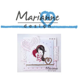Marianne Design - Creatables Dies - Rope With Heart LR0506