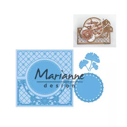 Marianne Design - Creatables Dies - Anja's Lacy Folding Circle LR0552