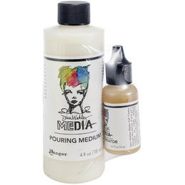 Dina Wakley Media Pouring Medium Cell Creator Set MDA63285