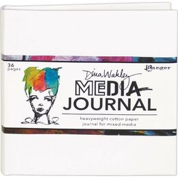 "Dina Wakley Media Journal White (6""x6"") MDJ61106"