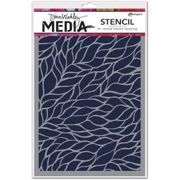 "Ranger Dina Wakley Media Stencils 9""X6"" - Viney MDS54467"