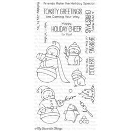 My Favorite Things - Clear Stamp - BB Toasty Greetings