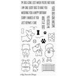 My Favorite Things - Clear Stamp - BB Lucky Dog