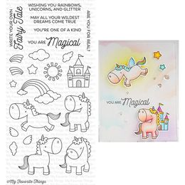 My Favorite Things - Clear Stamps - BB Magical Unicorns