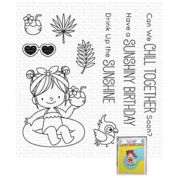 My Favorite Things - Clear Stamp - BB Drink Up the Sunshine