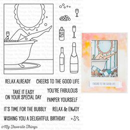My Favorite Things - Clear Stamps - WTG Time for the Bubbly