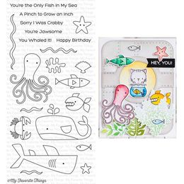 My Favorite Things - Clear Stamps - Ocean Pals