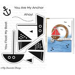 My Favorite Things - Clear Stamps - You Float My Boat