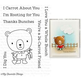 My Favorite Things - Clear Stamps - Rooting For You