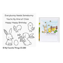 My Favorite Things - Clear Stamps - Hoppy Friends