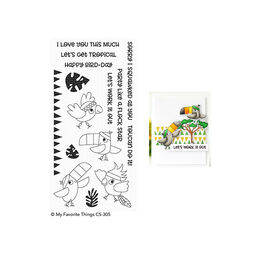 My Favorite Things - Clear Stamps - Toucan Do It