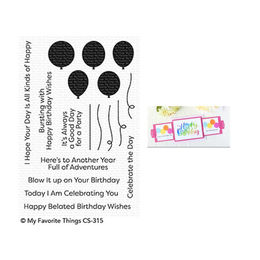 My Favorite Things - Clear Stamps - Bundle of Balloons