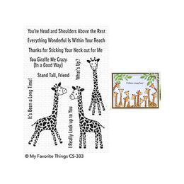 My Favorite Things - Clear Stamps - Playful Giraffes