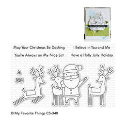 My Favorite Things - Clear Stamps - Santa & Friends