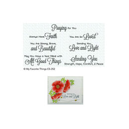 My Favorite Things - Clear Stamps - Beautiful Blessings 2