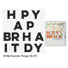 My Favorite Things - Clear Stamps - Happy Birthday Blend