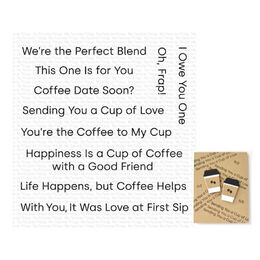 My Favorite Things - Clear Stamps - Cup of Love