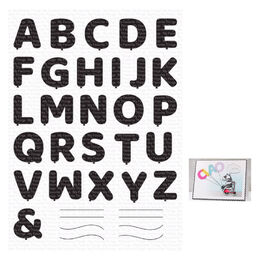My Favorite Things Clear Stamps - Pumped-Up Alphabet
