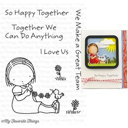 My Favorite Things - Pure Innocence Stamp - Happy Together