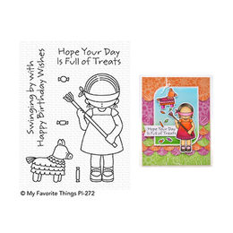 My Favorite Things - Pure Innocence Stamps - Birthday Pi–ata