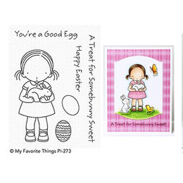 My Favorite Things - Pure Innocence Stamps - Somebunny Sweet