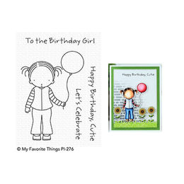 My Favorite Things - Pure Innocence Stamps - Birthday Cutie