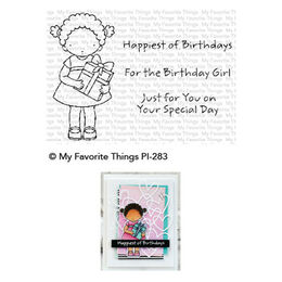 My Favorite Things - Pure Innocence Stamps - PI For the Birthday Girl