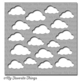 My Favorite Things -  MIX-able Stencil - Cloudy Day