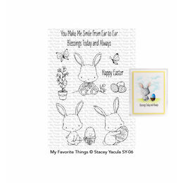 My Favorite Things - Clear Stamps - SY Easter Bunnies