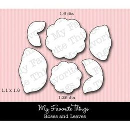 My Favorite Things - Die-namics - LJD Roses and Leaves
