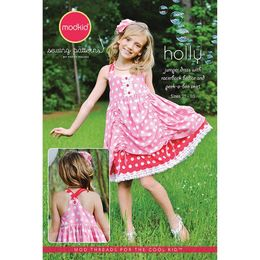 Modkid - Sewing Pattern - Girl Dress HOLLY MKSP-063HO